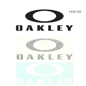 オークリー OAKLEY ステッカー ファンデーションロゴ カッティングステッカー ラージ ダイカット シール デカール アウトドア 黒 白AOO0002ET|raiders