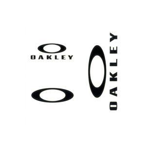 オークリー OAKLEY ステッカー  ステッカーパック スモール 3枚セット ファンデーションロゴ カッティングステッカー ダイカット ブラック 黒 AOO0002ET|raiders