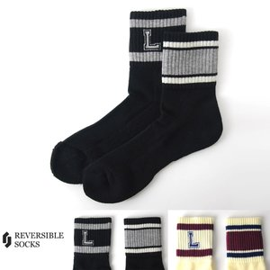 リバーシブルソックス REVERSIBLE SOCKS 靴下 L ソックス R911M[M便 1/1] メンズ raiders