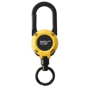ROOT CO ルート コー カラビナ キーホルダー キーリング グラビティ マグ リール 360 メンズ レディース おしゃれ ROOT CO. MAG REEL スマホグッズ 携帯グッズ|raiders|02