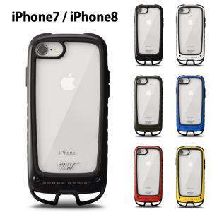 【iPhone7 iPhone8用ケース】ROOT CO ルート コー iPhoneケース グラビティ ショックレジストケース プラス ホールド アイフォンケース iPhone7 iPhone8 GSH7|raiders
