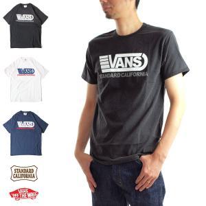 スタンダードカリフォルニア STANDARD CALIFORNIA Tシャツ スタンダードカリフォルニア×バンズ 半袖Tシャツ TSOST070[M便 1/1] メンズ