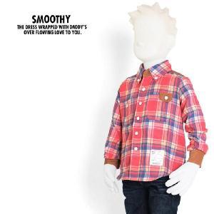 スムージー SMOOTHY 子供服 キッズ チェック ボタンダウンシャツ 12AWSPSM-SH02 メンズ raiders