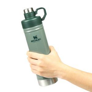 スタンレー STANLEY 水筒 直飲み クラシック 真空ウォーターボトル 0.75L おしゃれ ステンレス 保冷 750ml グリーン 緑 アウトドア キャンプ 02286-046|raiders