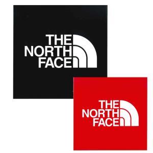 ザ ノースフェイス THE NORTH FACE ロゴ マーク ステッカー スクエア ロゴ 四角 ボックス デカール シール 定番 メンズ レディース K ブラック R レッド NN-9719|raiders