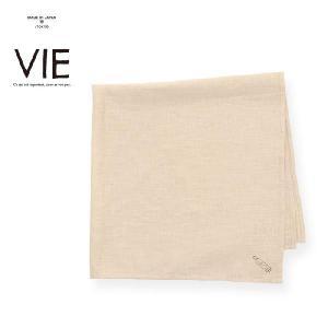 VIE ヴィエ リネンハンカチ フレグランス Linen スカーフ VIE(ヴィエ)[M便 1/3] メンズ raiders