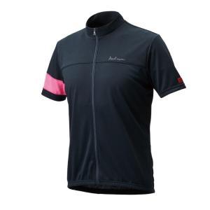 着こなしやすい杢柄のカジュアルなデザインのジャージです。 吸汗速乾とUVカット機能といったサイクルウ...