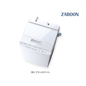 東芝 全自動洗濯機 7kg ZABOON ザブーン DDインバーター AW-7D9-W グランホワイ...