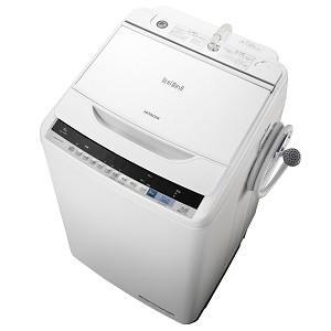 日立 ビートウォッシュ 全自動洗濯機 8kg ホワイト BW...