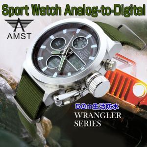 腕時計 スポーツウォッチ 日本語説明書付き AM...の商品画像