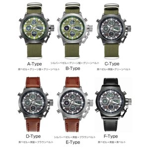 腕時計 スポーツウォッチ 日本語説明書付き A...の詳細画像3