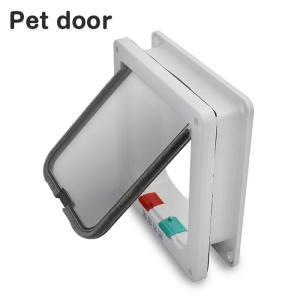 ペットドア Sサイズ 扉 猫 小型犬 キャットドア ドッグ 出入り口 ペット用品 勝手口 ペット用品 ◇RIM-KL-GD-S|raimu-house|02