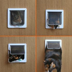 ペットドア Sサイズ 扉 猫 小型犬 キャットドア ドッグ 出入り口 ペット用品 勝手口 ペット用品 ◇RIM-KL-GD-S|raimu-house|03