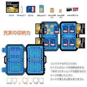 メモリーカードケース 26枚収納 CFカード SDカード SIMカード microSIMカード nanoSIMカード microSDカード ゆうパケットで送料無料 ◇RIM-PU5002|raimu-house|02