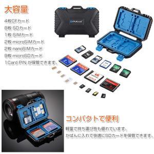 メモリーカードケース 26枚収納 CFカード SDカード SIMカード microSIMカード nanoSIMカード microSDカード ゆうパケットで送料無料 ◇RIM-PU5002|raimu-house|04