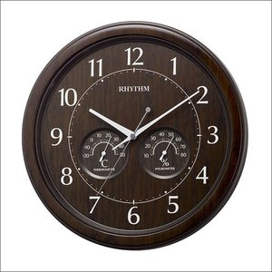 リズム時計 8MGA38SR23 掛け時計 オルロージュインフォートM38