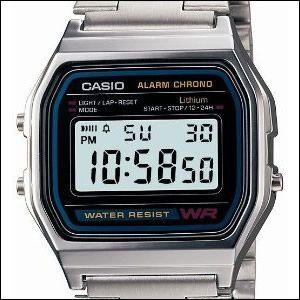 カシオ CASIO 腕時計 A158WA-1JFメンズ スタンダードモデル デジタルウォッチ rainbow-123