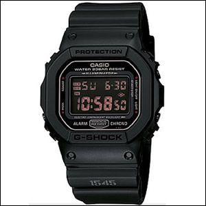 海外カシオ 海外CASIO 腕時計 DW-5600MS-1 メンズ Gショック G-SHOCK デジタルウォッチ MAT BLACK RED EYE