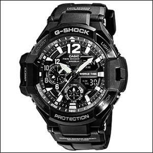 カシオ CASIO 腕時計 GA-1100-1AJF G-SHOCK ジーショック SKY COCKPIT スカイコックピット メンズ