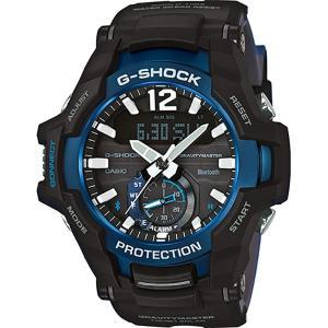 【並行輸入品】海外カシオ 海外CASIO 腕時計 GR-B100-1A2 メンズ G-SHOCK ジーショック グラビティマスター タフソーラー (国内品番 GR-B100-1A2JF)|rainbow-123
