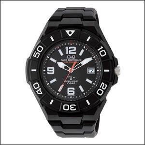 キュー&キュー Q&Q 腕時計 HG14-305 SOLARMATE ソーラーメイト コンビネーション 電波 ソーラー メンズ