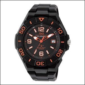 キュー&キュー Q&Q 腕時計 HG14-325 SOLARMATE ソーラーメイト コンビネーション 電波 ソーラー メンズ
