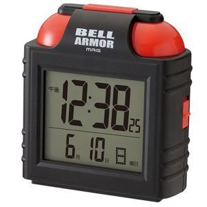 【正規品】ノア精密 NOAクロック T-734 BK-Z 置時計 大音量目覚まし時計 ベルアーマー