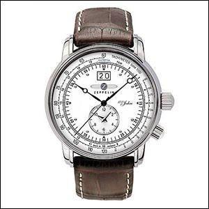4210d40e81 ツェッペリン ZEPPELIN 腕時計 7640-1 メンズ Zeppelin号誕生 100周年記念モデル 並行輸入
