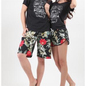 水着 サーフパンツ 海パン ハーフパンツ ショートパンツ 軽量 速乾 水陸両用 メンズ レディース カップル 男女揃い プール 旅行|rainbow-beach88