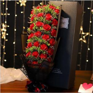 愛の花束 Rose束プロポーズ カーネーション  バラ ローズ 女性 母 退職祝い 花 敬老の日 お祝い 贈り物  サンタ プレゼント ギフト 愛の告白 AlohaMahalo