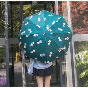 傘 折りたたみ傘 レディース 軽量 かわいい おしゃれ 晴雨兼用 日傘 折りたたみ 丈夫 コンパクト AlohaMahalo|rainbow-beach88