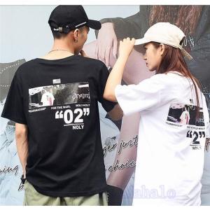 Tシャツ レディース メンズ ペアルック 半袖 夏 カジュアル 旅行 カップル 夫婦 プレゼント 彼氏へ 彼女へ 可愛い  AlohaMahalo|rainbow-beach88