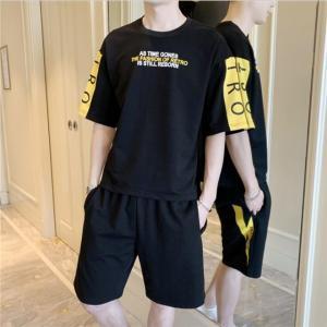 スポーツウェア Tシャツ メンズ ヒップホップ ダンス衣装  レギンス フィットネス ランニング トレーニング 吸汗速乾 ウォーキング ボン AlohaMahalo|rainbow-beach88