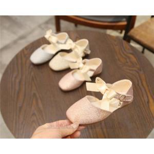 子供靴 ピアノ発表会 靴 スパンコール リボンフォーマルシューズ フォーマル靴 発表会 結婚式 卒業式 パーディー 七五三 入学式 キッズ AlohaMahalo|rainbow-beach88