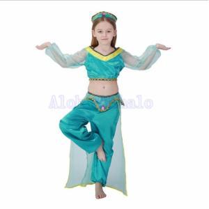 ベリーダンス衣装 ベリーダンス用ウエア 子ども用 キッズ 5点セッ イベント衣装 インドダンス キラキラ アラビア AlohaMahalo  卒業式 入園式|rainbow-beach88