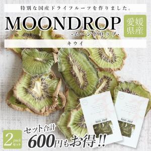 2個セット MOONDROP キウイフルーツ ムーンドロップ ドライフルーツ 愛媛県産 柑橘