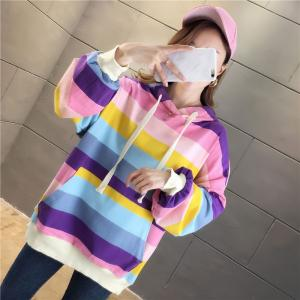 パーカー トレーナー メンズ 長袖 大きい ストリート系ファッション 秋 ダンス 衣装 韓国 HIPHOPB系 アメカジ レディース 柄 カジュアル 流行|rainbow18-store