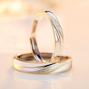 ペアリング通販 シンプル フリーサイズ 指輪 男女兼用 シルバー925 プラチナ仕上げ 激安ペアリング 人気 結婚指輪