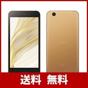 シャープ SIMフリースマートフォン AQUOS sense lite SH-M05(ゴールド) S...