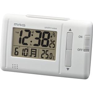 デジタル電波目覚まし時計ファルツ 単品 送料無料の商品画像