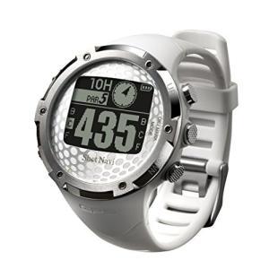 ショットナビ(Shot Navi) ゴルフナビ GPS 腕時計型 ホワイト 日本プロゴルフ協会推奨 ...
