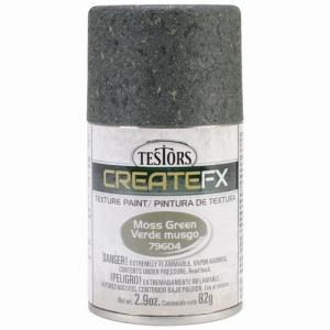 テスター(プラッツ) CF79604 クリエイトエフェクツ ジオラマペイントスプレー モスグリーン(コンクリート・濃鼠)|rainbowten