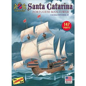 リンドバーグ HL202 1/144 帆船 サンタ カタリーナ号 rainbowten
