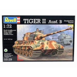 ドイツレベル 3129 1/72 VI号戦車 キングタイガー|rainbowten