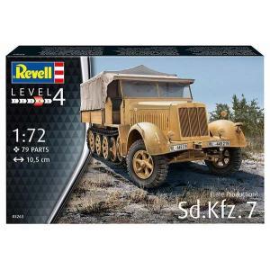 ドイツレベル 3263 1/72 Sd.Kfz.7 後期型|rainbowten