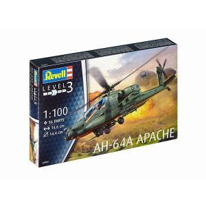 ドイツレベル 4985 1/100 AH-64A アパッチ rainbowten