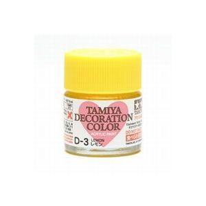 タミヤ タミヤデコレーションカラー D-3 レモン|rainbowten