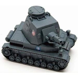 EBBRO 30001 ガールズ & パンツァー ドイツ IV号戦車D型(フリクションモーター付き) ※接着剤不要|rainbowten