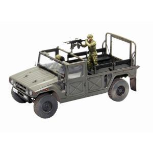 ファインモールド FM41 1/35 陸上自衛隊 高機動車(機関銃装備) 隊員フィギュア2体付|rainbowten
