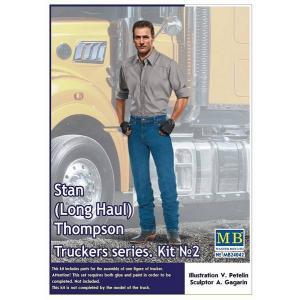 MB マスターボックス MB24042 1/24 トラッカーシリーズ:トラックドライバー スタントンプソン|rainbowten